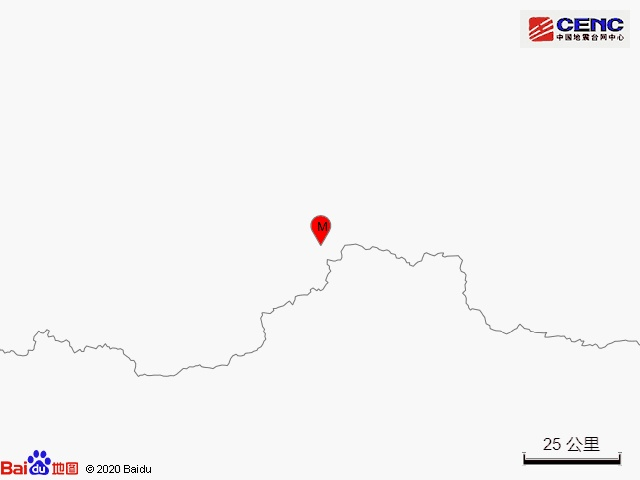 新疆和田地区于田县发生3.6级地震震源深度10千米