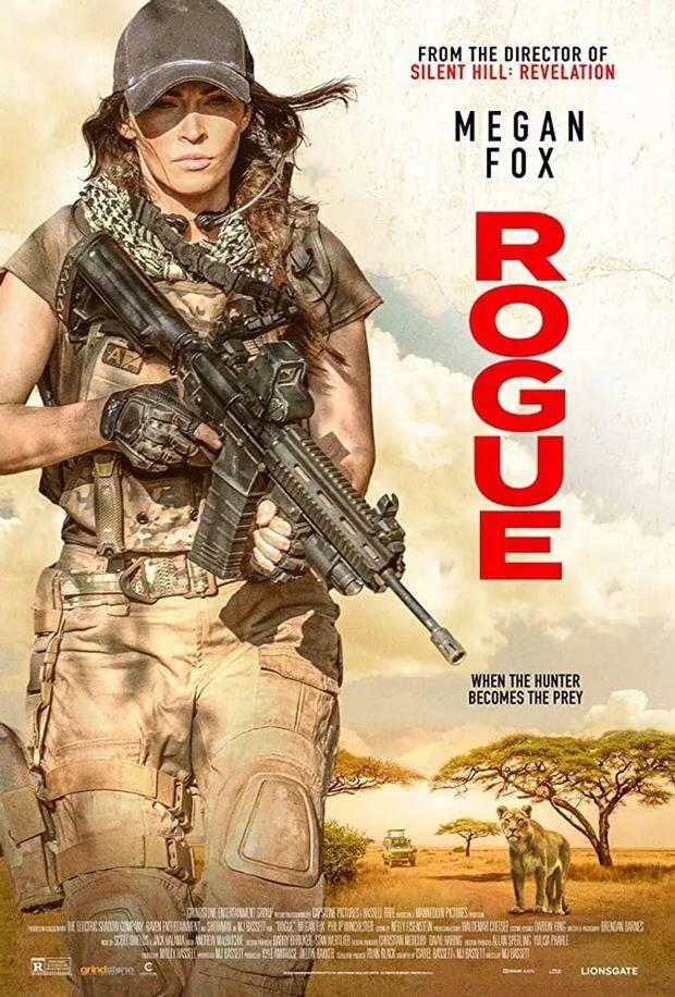 梅根·福克斯出演《侠盗》8月28日上线,演佣兵怼狮子图片
