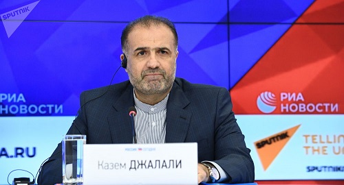 俄媒:伊朗驻俄大使向俄罗斯传话 伊方有意购买俄罗斯制造新式武器