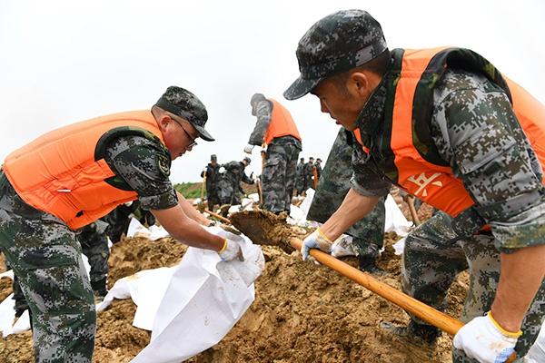 杏悦:安徽合杏悦肥启动Ⅲ级救灾应急响应图片