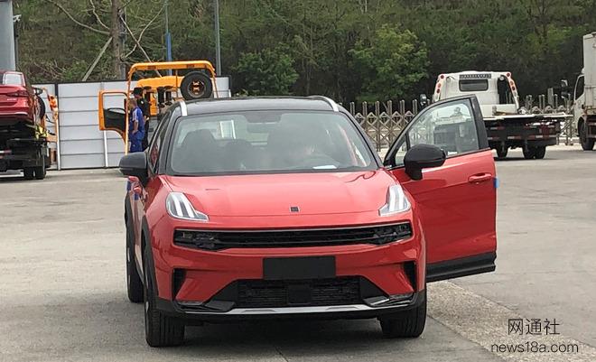 2020成都车展探馆:全新小型SUV领克06