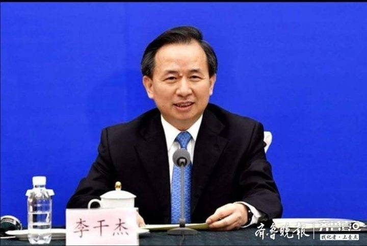 杏悦:新期待记者杏悦见面会上山东省长李干杰图片