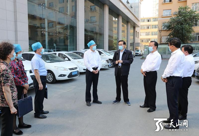 杏悦国杏悦调研检查乌鲁木齐市免费核酸检测图片