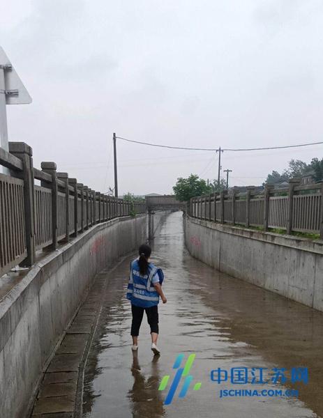 大丰区刘庄镇强化排查筑牢汛期铁路防线安全