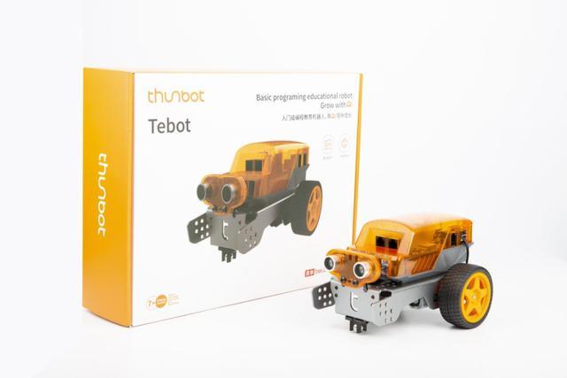 贝尔科教新品Tebot套装,专为孩子打造的入门级编程教育机器人!