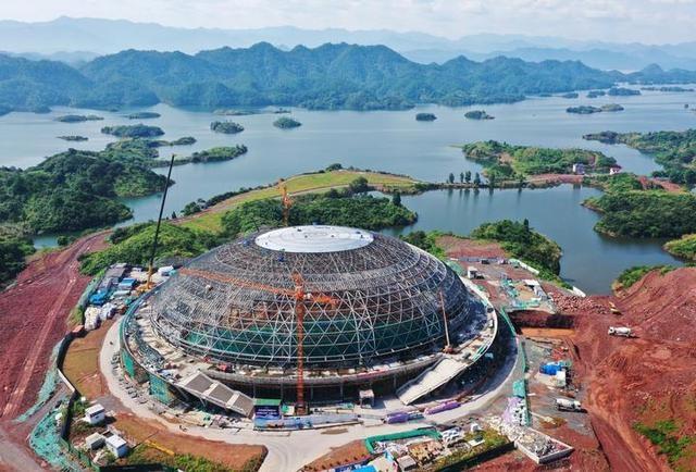 淳安:亚运会自行车馆主体土建及钢结构工程竣工