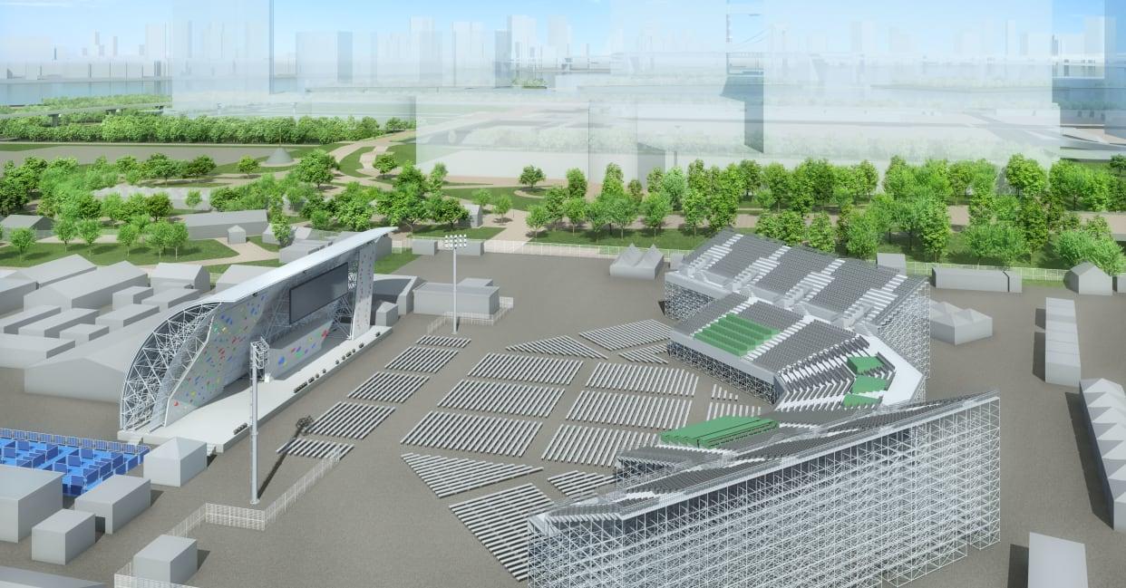 """青海城市运动公园""""服役""""时间延长。图/东京奥运会官网"""