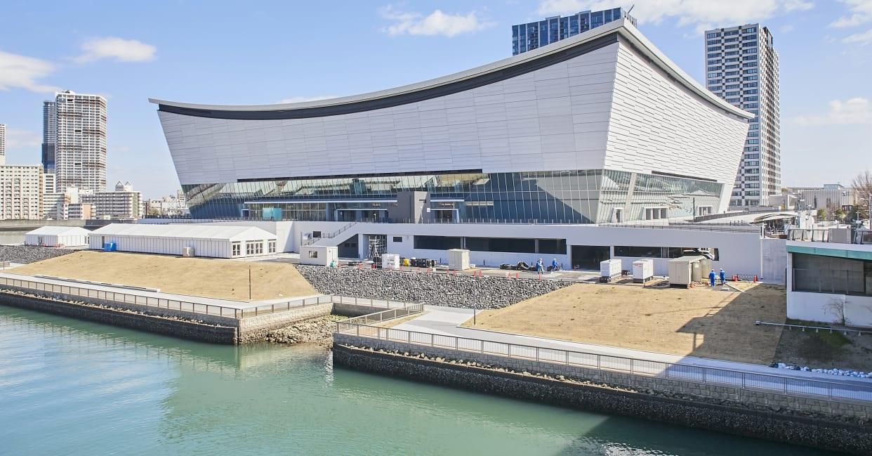 有明体育馆等新建场馆长时间闲置。图/东京奥运会官网