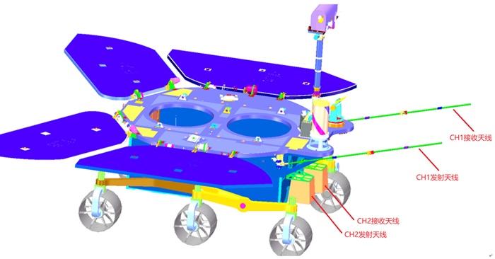 """""""透视""""火星内部结构 火星车次表层探测雷达了解一下"""