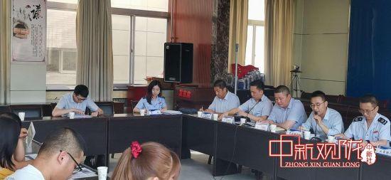 """庆城县税务局举办""""税企银""""座谈会 助复产促发展"""