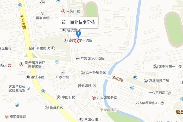 收藏!南宁事业单位+教师公招考试41个考点地图来啦