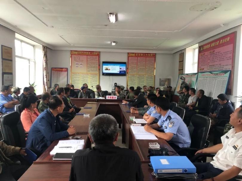 塔河县组织观看《民法典》普法讲座