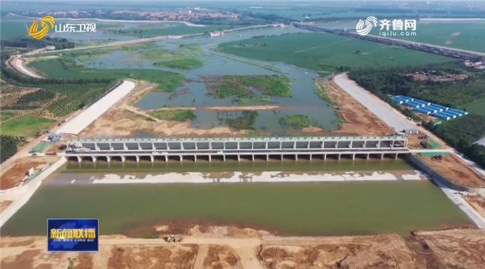 """总投资1.24亿!寿光市5个月建成""""一号防汛工程""""弥河分流控制闸"""
