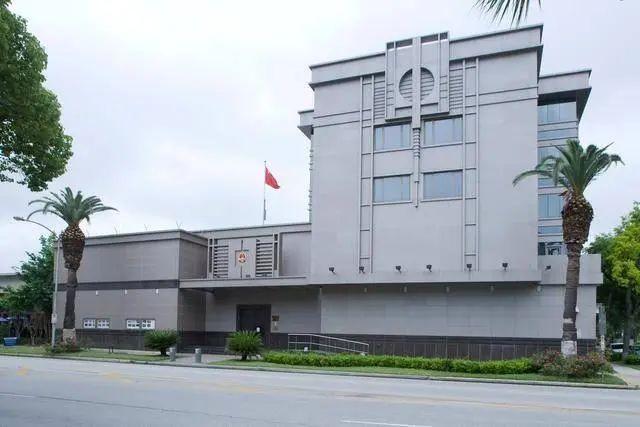 中国驻休斯敦总领馆(资料图)