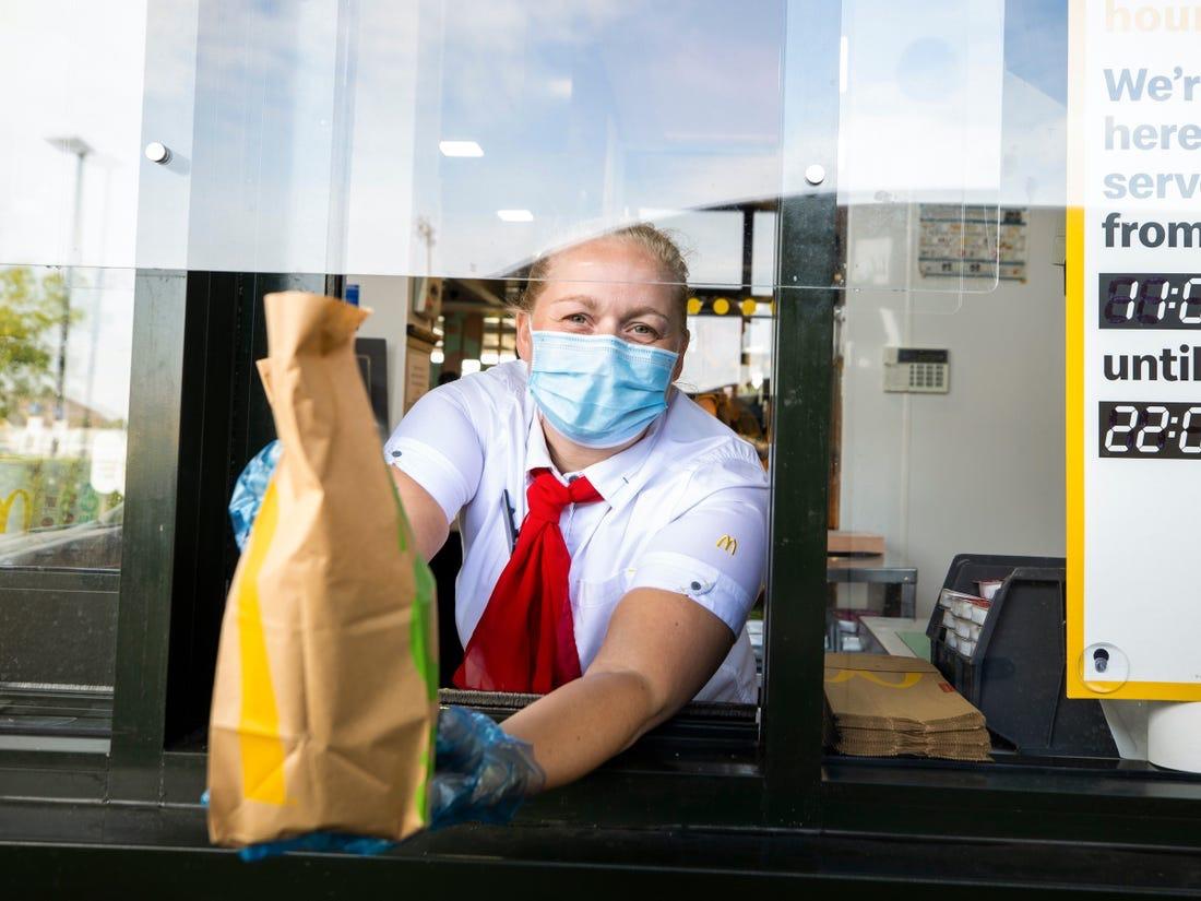 《【超越娱乐注册】美国麦当劳要求8月开始顾客必须在店内戴口罩》