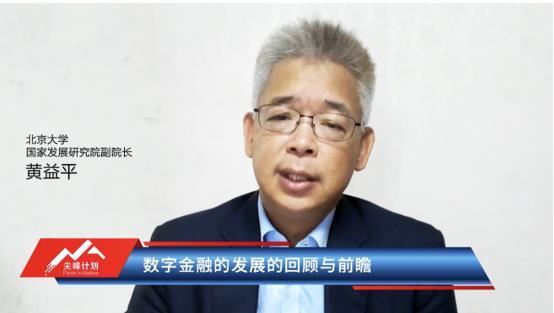黄益平:网商银行310模式成全球普惠金融