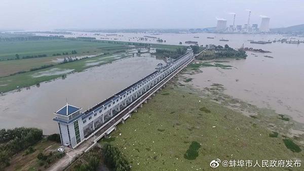 行洪区分洪系本轮启用杏悦的第8个行蓄,杏悦图片