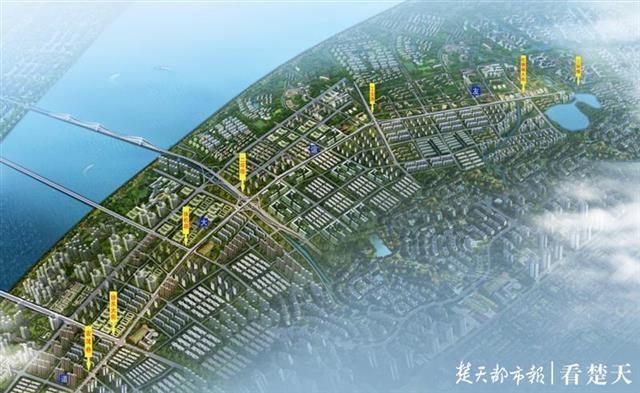 新建5座人行天桥与多处路口形成互通立交武昌友谊大道快速化改造北段工程启动