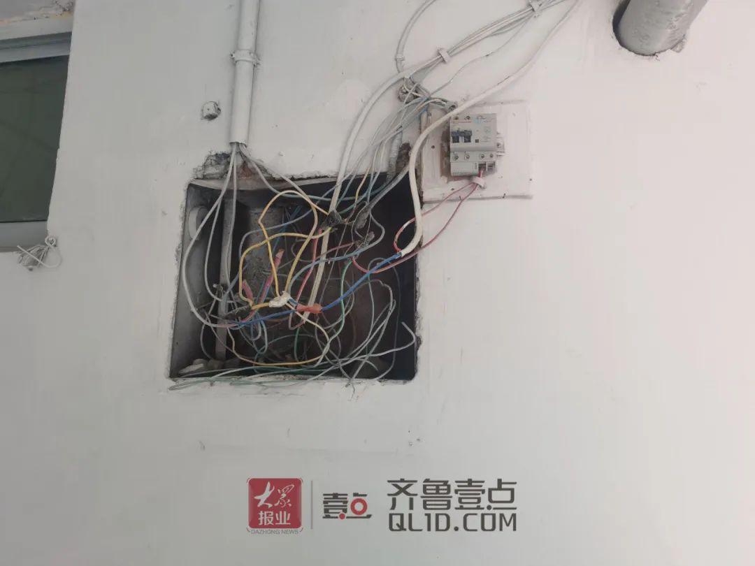 泰安北关社区楼内电线杂乱国家电网:不在职责范围内但可以帮忙处理