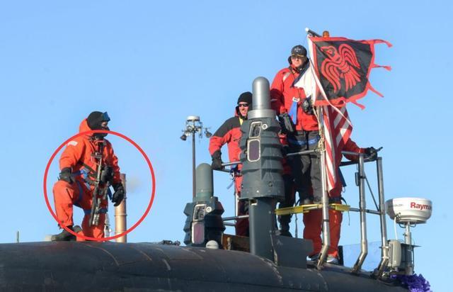 美军为核潜艇艇员配备激光枪 浮出水面时能对付空中目标