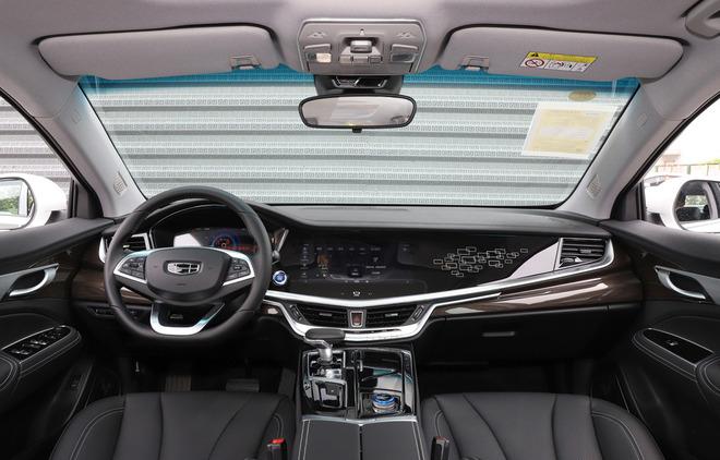 吉利新款博瑞插电混动版上市 补贴后售16.98万起