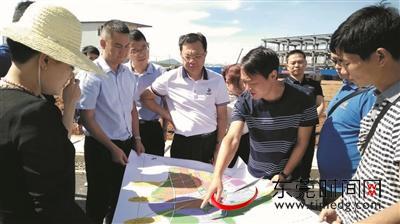 万江党政企代表团赴云南昭通调研 动员企业结对帮扶贫困村图片