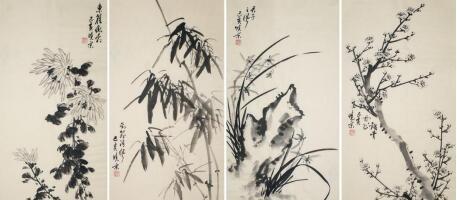 国画赏析——传统中国画欣赏之梅兰竹菊