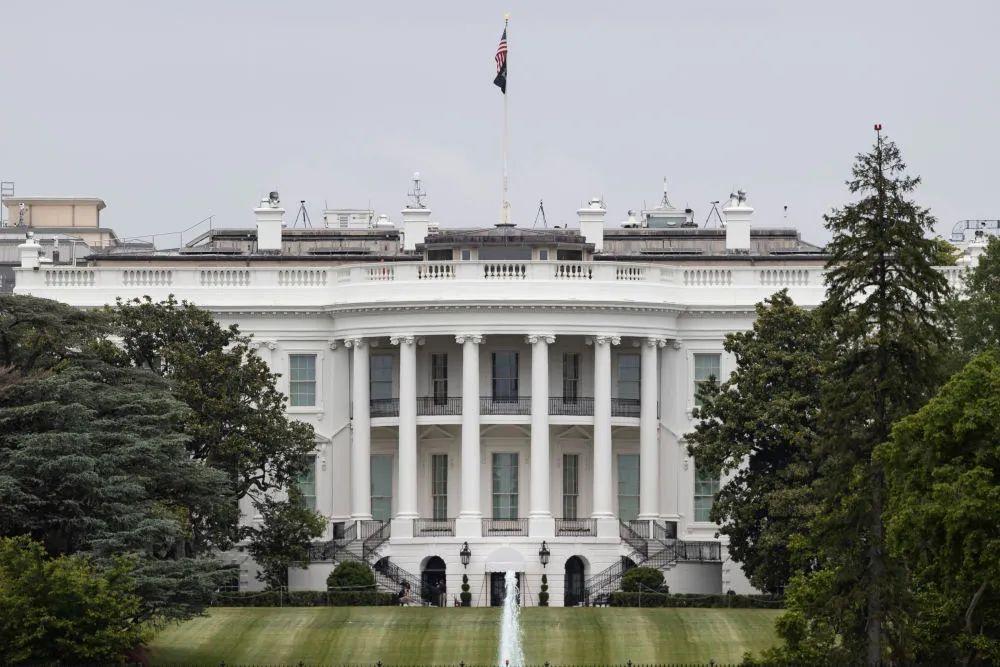 ▲这是5月21日在美国首都华盛顿拍摄的白宫。(新华社发 沈霆 摄)
