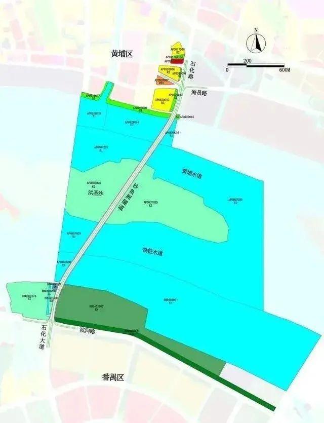 番禺黄埔再添过江隧道!沿线规划4条地铁+1条在建地铁