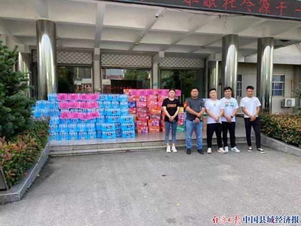 """安徽凤阳:闻""""汛""""而动 非公企业勇于担当"""