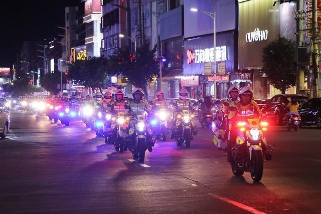 不到一天时间57名违法犯罪嫌疑人员落网,陆丰这场行动动了真格