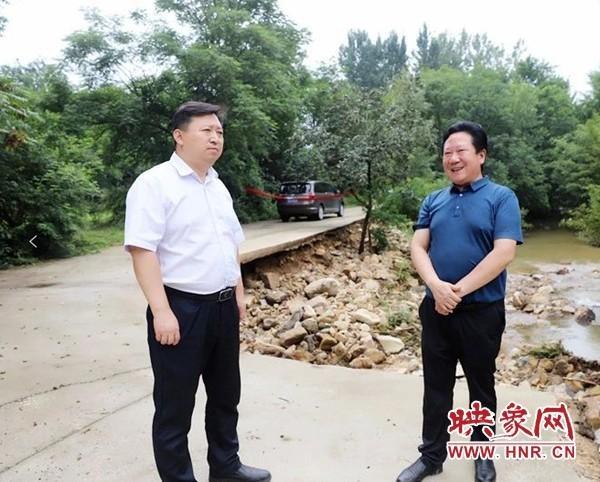 确山县:严要求落实防洪防汛 高标准推进水质治理