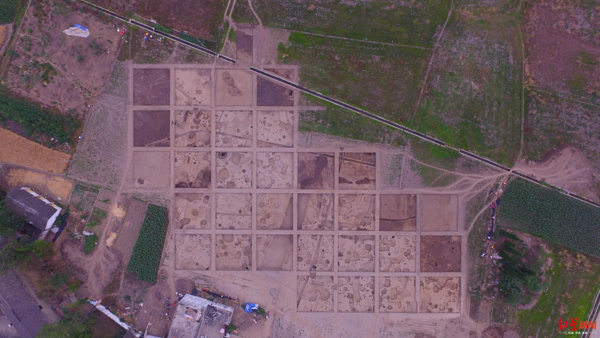 三星堆周边联合遗址首次出土龙凤纹盘:再现成都平原5000年发展史