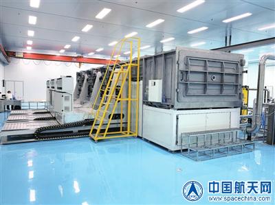 航天科技五院510所自主研制的国内首条透明氧化物高阻隔薄膜生产线落成
