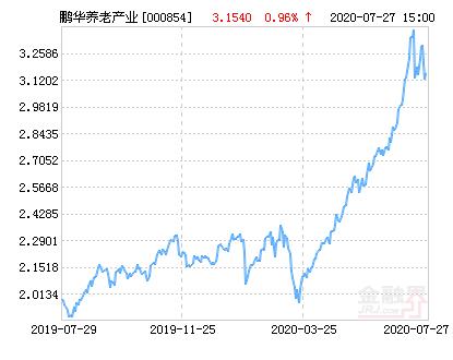 鹏华养老产业股票净值上涨2.28% 请保持关注