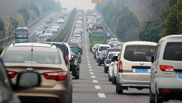 高德公布端午城市拥堵情况,同去年相比下降2%