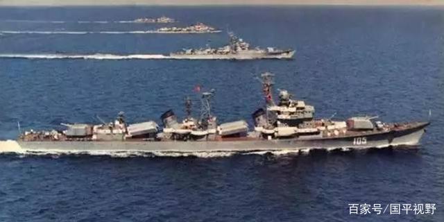 改装051S型驱逐舰:引进海标枪防空导弹,最终却成了海响尾蛇导弹
