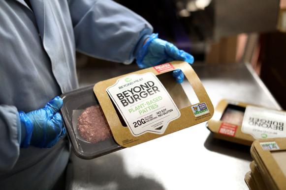 人造肉Beyond Meat产品将上架盒马图片