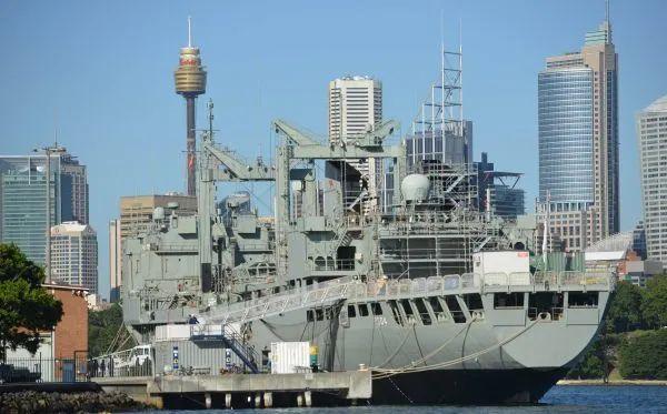 ▲资料图片:澳大利亚水师兵舰(新华社/法新)