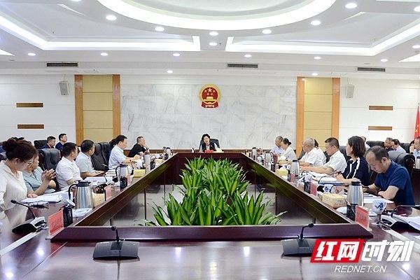 张迎春主持召开湘潭市第二季度重点项目调度会