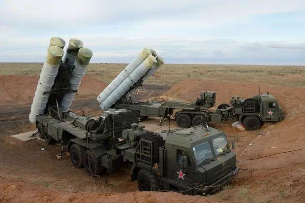 ▲俄军S-400防空系统训练资料图(俄国防部官网)