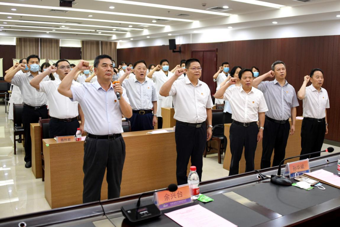 河南省直工委到省市场监管局参加基层党组织主题党日活动并慰问党员干部