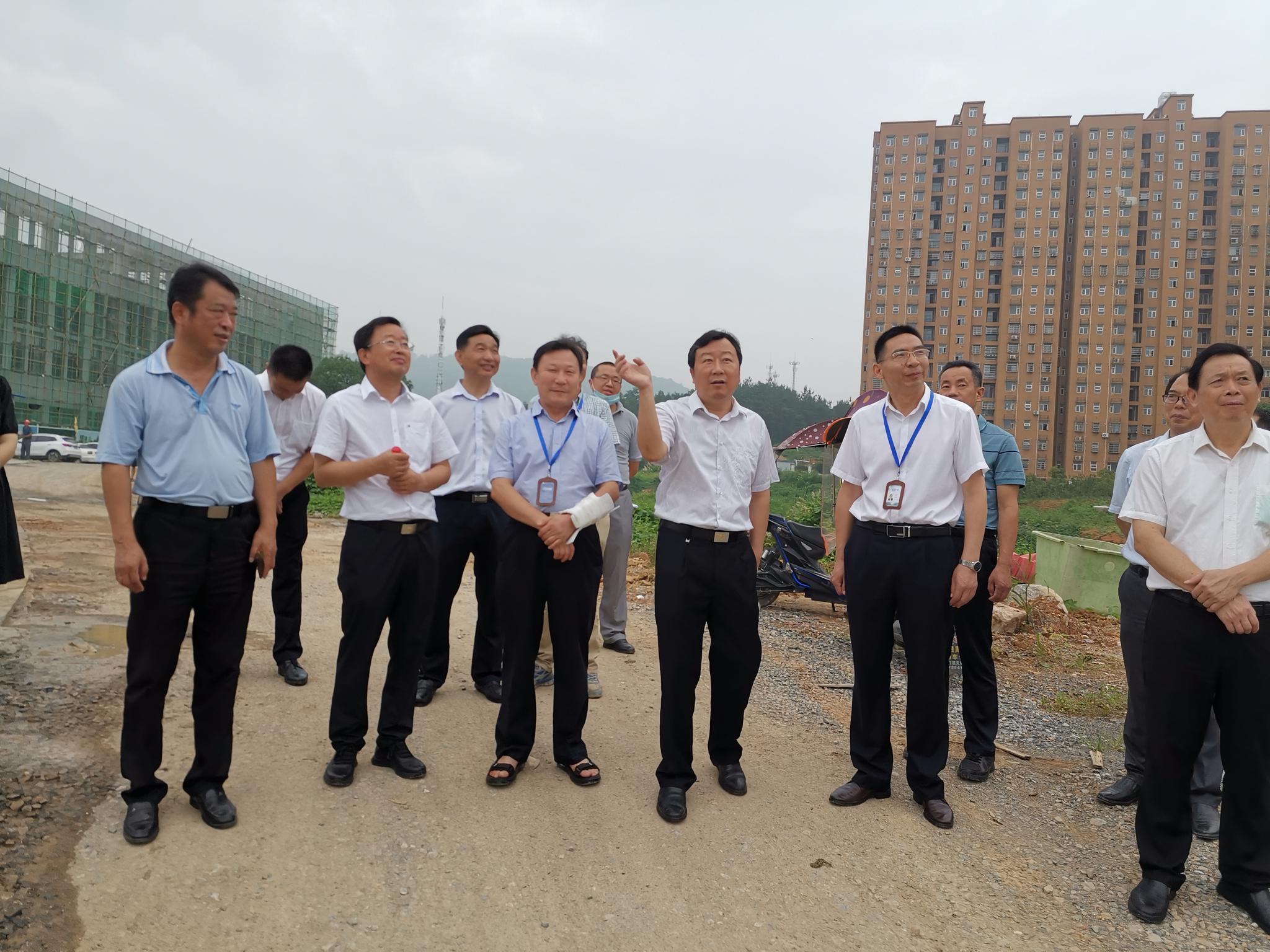 王远鹤在调研市本级政府投资项目时要求:加快项目建设 补齐民生短板