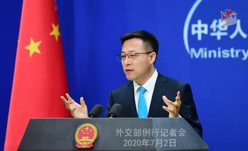 中方是否担忧香港国安法会影响中美关系?赵立坚:维护国家安全和双边关系哪个更重要,一目了然