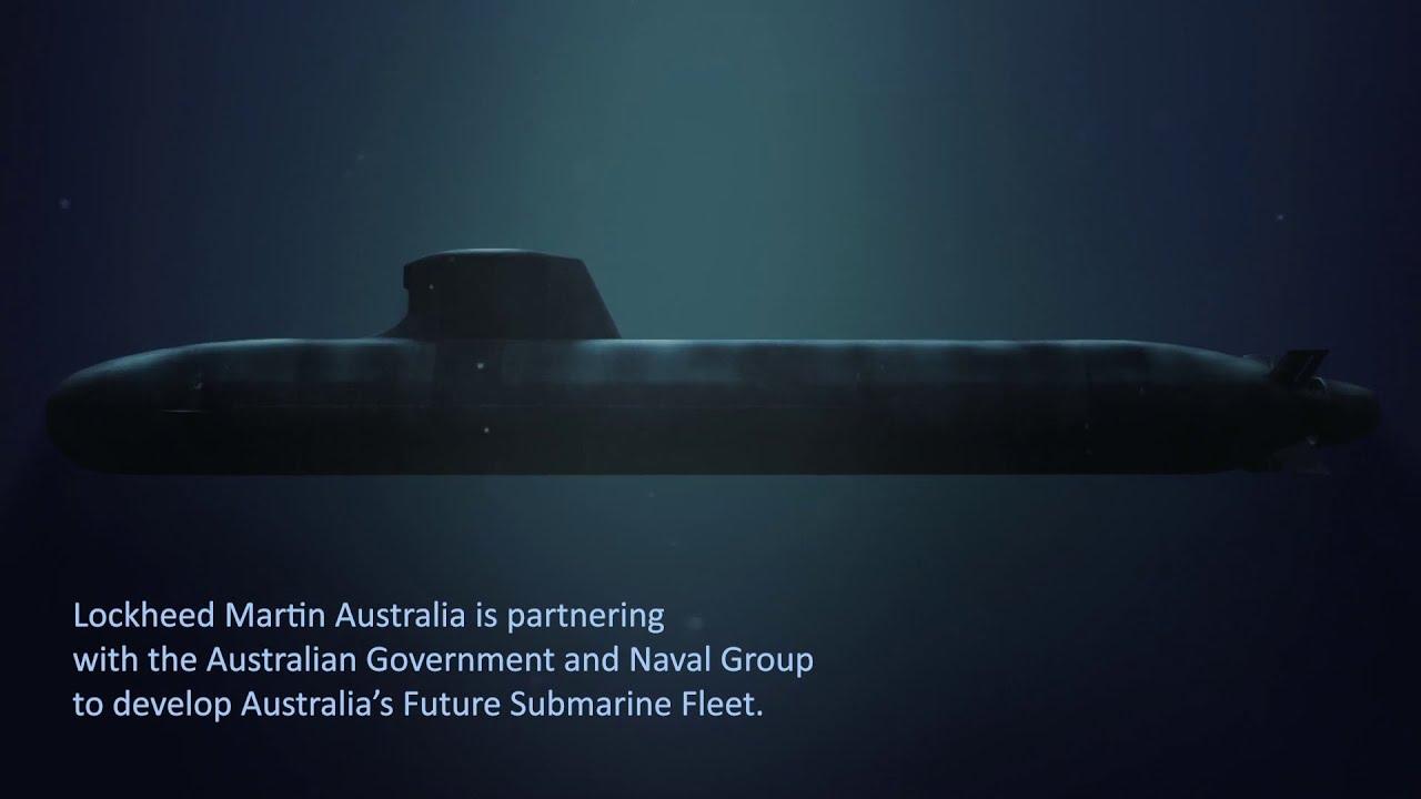 澳大利亚将斥资两百亿美元发展先进常规潜艇 图源:洛克希德·马丁