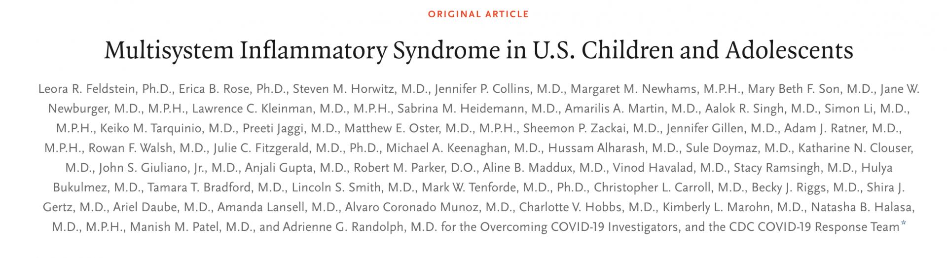 """美国近300例新冠""""儿童怪病""""研究:类似川崎病,危及生命"""