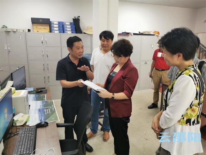 周迎春到隆回调研指导湖南省夏季乡村文化旅游节筹备工作
