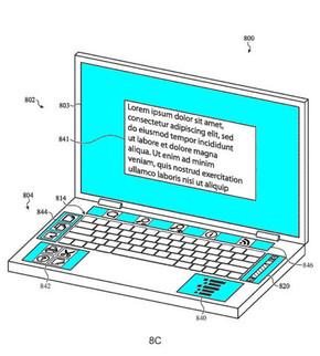 五个显示屏的MacBook你见过吗?苹果发布了相关专利