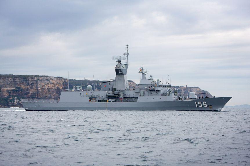 澳大利亚兵舰。图源:澳大利亚皇家水师