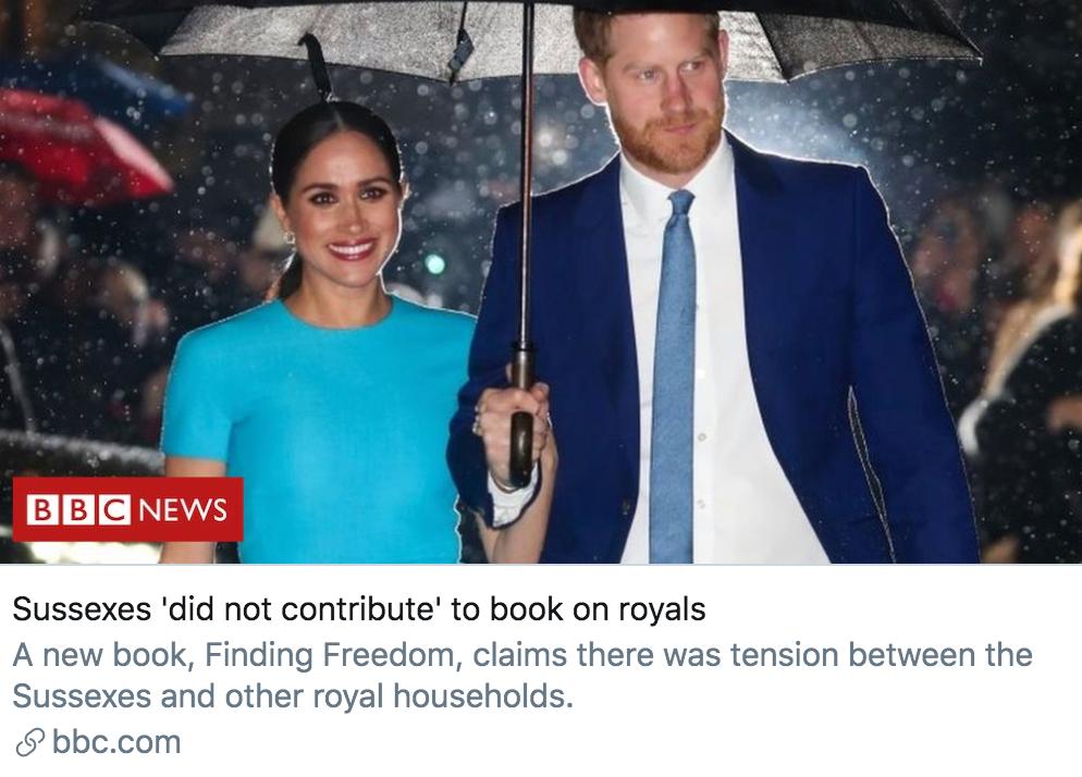 """哈里梅根传记揭王室""""旧伤疤"""" 王子兄弟真有不和"""